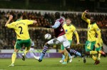 Soccer - Capital One Cup - Quarter Final - Norwich City v Aston Villa - Carrow Road