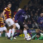 Football GIF: Gervinho Misses Uber-Sitter In Arsenal's Feeble Defeat At Bradford