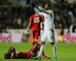 Soccer - Capital One Cup - Quarter Final - Swansea City v Middlesbrough - Liberty Stadium