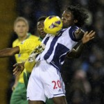 West Brom 2-1 Norwich – Baggies End Canaries' Unbeaten Run At The Hawthorns (Photos & Highlights)
