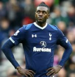 Football GIF: Emmanuel Adebayor Hits Crossbar From Just Two Yards Out