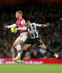 Soccer - Barclays Premier League - Arsenal v Newcastle United - Emirates Stadium