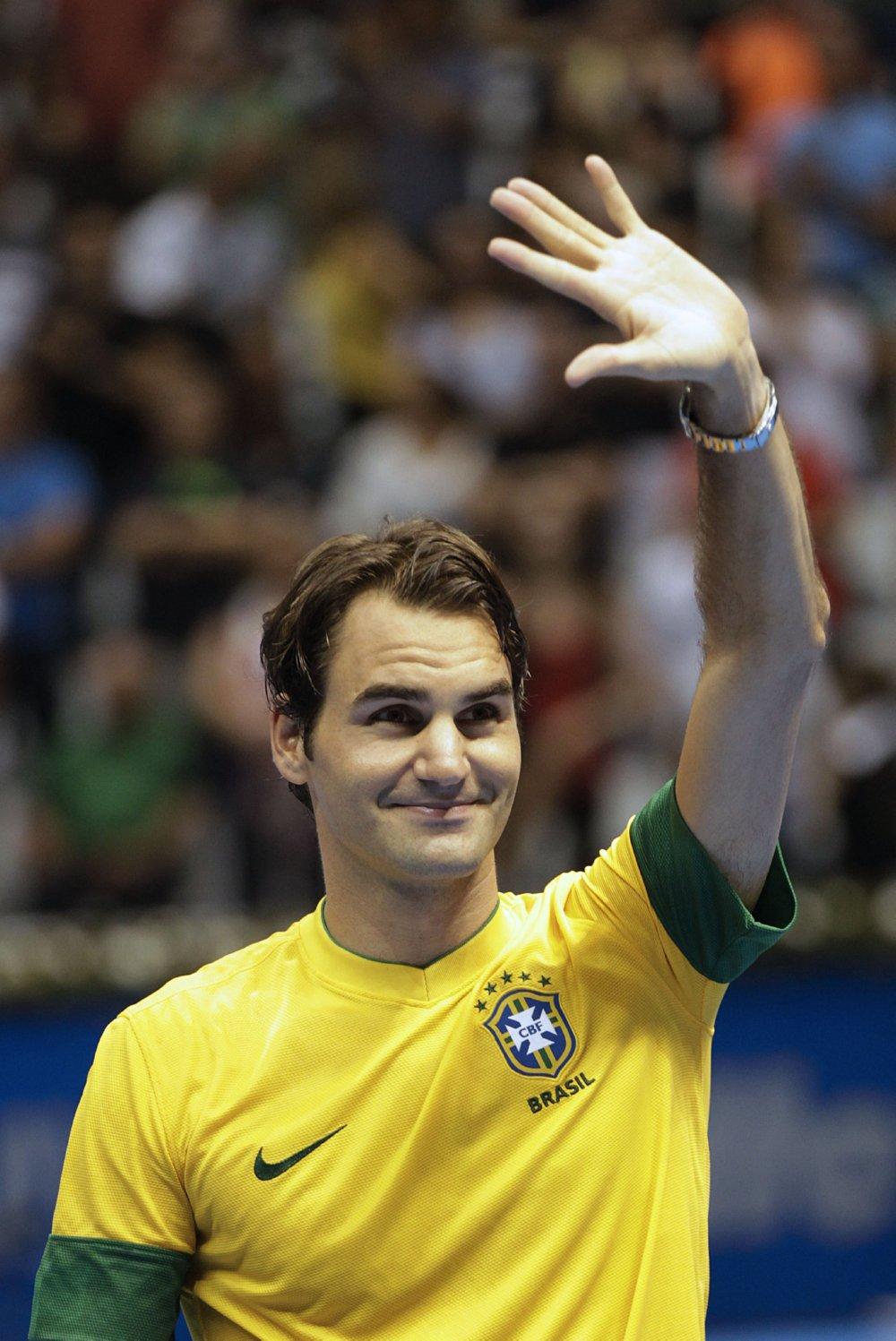 Federer Tour Brazil