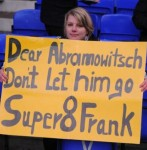 Chelsea Fan Has Frankie Lampard In Her Heart, But Very Little In Her Brain (Or Is Possibly German!) (Photo)