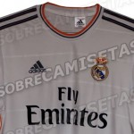 This May Or May Not Be The New 2013/14 Real Madrid Home Shirt (Leaked Photo)