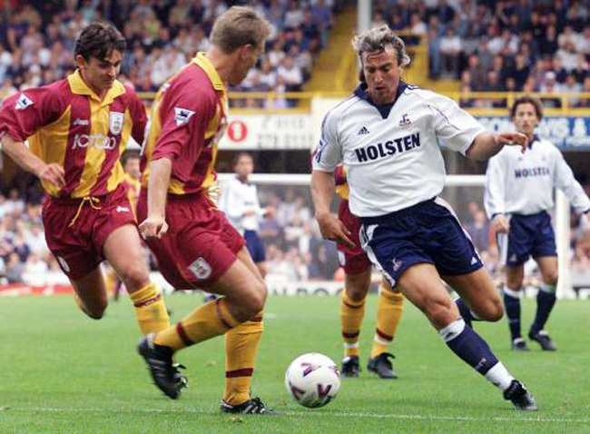Bradford v Spurs/Ginola