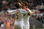 Soccer - Barclays Premier League - Swansea City v Aston Villa - Liberty Stadium