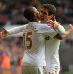 Swansea 2-2 Aston Villa &#8211; Last-Gasp Graham Goal Saves Point For Swans Against Youthful Villans (Photos &#038; Highlights)