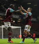 Soccer - FA Cup - Third Round - West Ham United v Manchester United - Upton Park