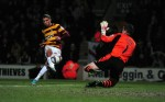 Soccer - Capital One Cup - Semi Final - First Leg - Bradford City v Aston Villa - Coral Windows Stadium