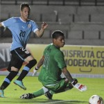 Football GIF: Peru U20 Keeper Pulls Off Herculean Double Save vs Uruguay U20