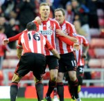 Sunderland 3-0 West Ham – Larsson Cracker Fires Black Cats On Road To Easy Win Against Hammers (Photos & Highlights)