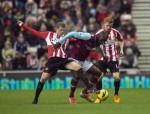Soccer - Barclays Premier League - Sunderland v West Ham United - Stadium of Light