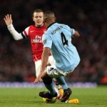 Vincent Kompany Sent Off For Pretty Much Perfect Tackle On Jack Wilshere (Video)