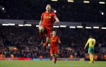 Soccer - Barclays Premier League - Liverpool v Norwich City - Anfield