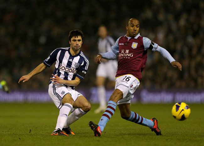 Soccer - Barclays Premier League - West Bromwich Albion v Aston Villa - The Hawthorns