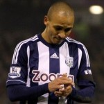Football GIF: Peter Odemwingie Scores From Own Half, Split-Second After Final Whistle