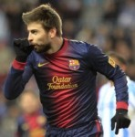 Gerard 'Piquenbauer' Pique Scores Sweet Goal vs Malaga, Celebrates With Thumb Suck (Video)