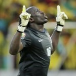 AfCoN: Zambia Keeper Kennedy Mweene Scores Perfect Penalty Under Pressure vs Nigeria (Video)