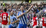 Soccer - FA Cup - Fourth Round - Brighton and Hove Albion v Arsenal - AMEX Stadium