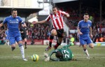 Soccer - FA Cup - Fourth Round - Brentford v Chelsea - Griffin Park