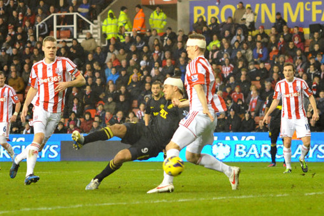 Soccer - Barclays Premier League - Stoke City v Wigan Athletic - Britannia Stadium