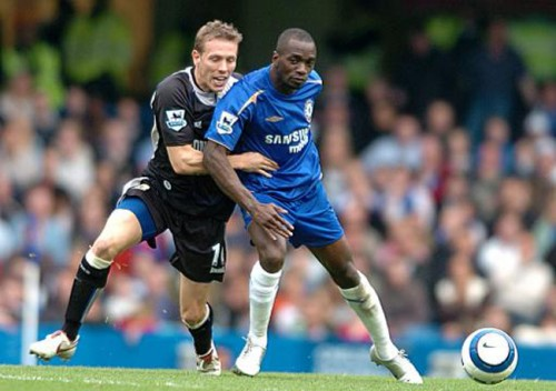 Soccer - FA Barclays Premiership - Chelsea v Blackburn Rovers - Stamford Bridge
