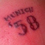Moronic Liverpool Fan Gets Munich Tattoo On Arse, Brags About It On Twitter (Sadly, There's A Photo)