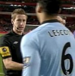 Linesman Who Told Joleon Lescott To Applaud Man City Fans For Paying 62 Withdrawn From Next Game