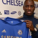 First Photo: Chelsea Complete £7m Demba Ba Deal, Poses With New Work Uniform