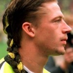 Horror Hair: Steffen Freund&#8217;s Monstrous Two-Tone Plait Ponytail, 1996