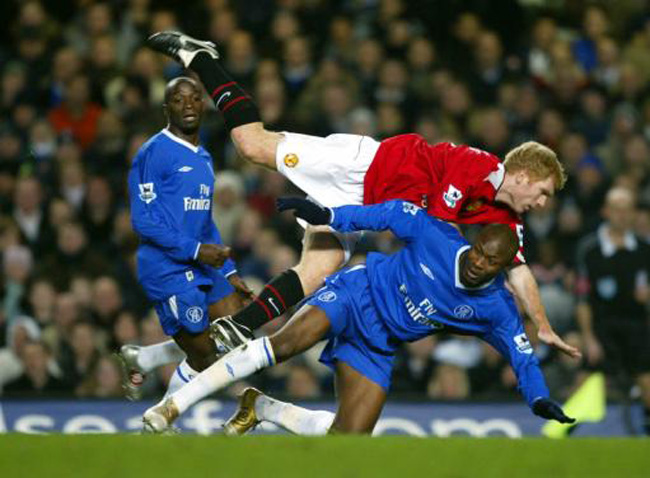 Soccer - Carling Cup - Semi-Final - First Leg - Chelsea v Manchester United
