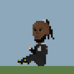 Football GIF: Congo 'Bum Bounce' Keeper Rendered In Glorious 8-Bit!