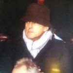 Lookin' Good Sweetheart: Roberto Mancini Watches Arsenal-Liverpool In Delightful Old Woman's Hat