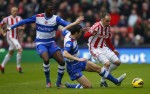 Soccer - Barclays Premier League - Stoke City v Reading - Britannia Stadium