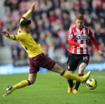Sunderland 0-1 Arsenal – 10-Man Gunners Battle To Vital Win Against Black Cats (Photos & Highlights)