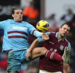 Aston Villa 2-1 West Ham – Villans Move Out Of Drop-Zone After Nervy Win Over Hammers (Photos & Highlights)