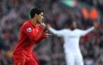 Soccer - Barclays Premier League - Liverpool v Swansea City - Anfield