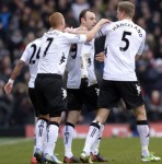 Fulham 1-0 Stoke – Berbatov Beauty Gives Whites Deserved Win At The Cottage (Photos & Highlights)