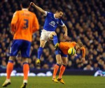 Soccer - FA Cup - Fifth Round - Replay - Everton v Oldham Athletic - Goodison Park