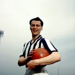 West Brom's Bobby Robson poses for a pre-season photocall, 1960