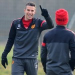 Man Utd Train Ahead Of Real Madrid Blockbuster, Paul Scholes To Miss Game With Knee Knack (Photos)