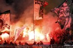 Borussia Monchengladbach show a bit of flare.