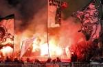 Borussia Monchengladbach show a bit of flare.