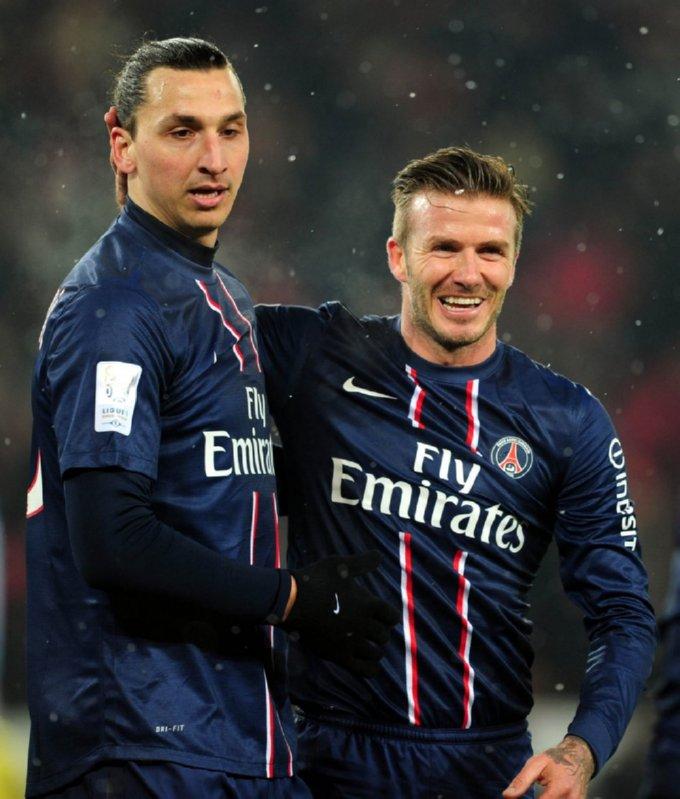 Beautiful, Beautiful David Beckham Makes PSG Debut In 2-0