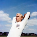Already looking every inch the iconic England captain, Bobby Moore in 1963.