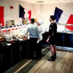 Snapshot: Newcastle Welcome French Legion By Decorating Canteen And Laying On Gallic Menu…