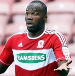 Andre Bikey Celebrates Middlesborough&#8217;s First Win Of 2013 By Giving Referee Big Bear Hug! (Video)