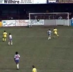 Retro Football: Chester&#8217;s Brynley Jones Scores Freakish Goal After One-Two With Referee vs Colchester, 1981