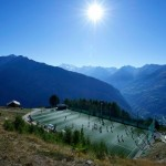 Around The Grounds: FC Gspon&#8217;s Ottmar Hitzfeld Stadium, The Highest Pitch In Europe